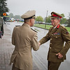 SHAPE, september 9, 2011. General Sir David Richards, British Army, Chief of Defence Staff (GBR CHOD), visited SHAPE.  He was greeted by a Welcome Ceremony, presided over by Admiral James Stavridis, Supreme Allied Commander Europe (SACEUR). Picture by Sgt Peter Buitenhuis - RNLAF.