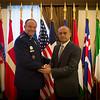 Visit of Armenian Minister of Defense  Seyran Ohanyan (NATO Photo by Sgt 1st Class Stefan Hass-DEUA)