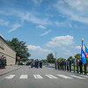 Supreme Allied Commander Europe, General Phil Breedlove, welcomes Azerbaijan Minister of Defence, Colonel General Zakir Hasanov, during the Honor guard Ceremony at Supreme Headquarters Allied Power Europe/Belgium on 2nd of June 2014. (NATO photo by Sgt. Emily Langer/ DEU Army)