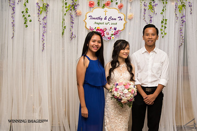 Wedding Reception for Cam Tu Diep & Timothy Berg