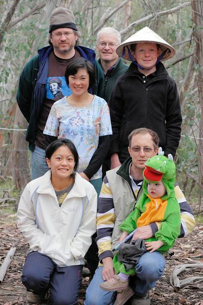 Group Photo: closeup.