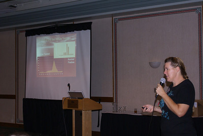 Barbara Ray from Ohio Wildlife Center - instructor for RVS