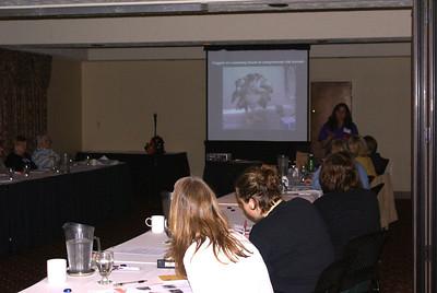 Lisa Fosco, teaching the Initial Care & Emergency Stabilization Workshop