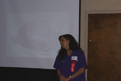 Lisa Fosco teaching a Technical Skills workshop.