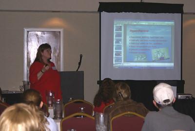 Dr. Susan Shibley teaching Category 1