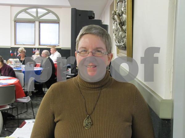 Linda Hearn at the Czech Heritage Dinner.