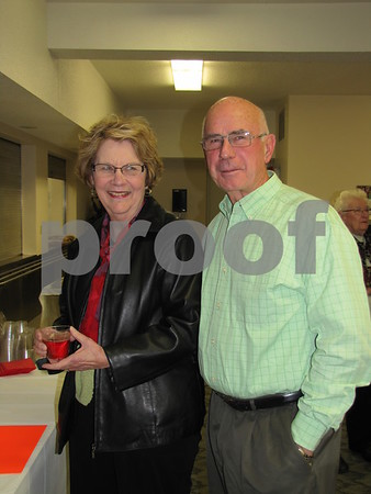 Diane and Clyde Knupp attended the Czech Heritage Dinner.