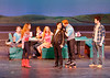 Dress rehearsal Footloose by the Acton-Boxborough High School Proscenium Circus.