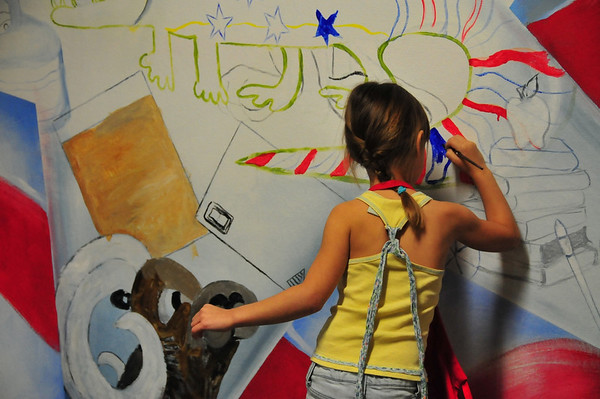 2009 Mayde Creek Elementary School - Mural Project