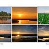 Sunrise at Bombay Hook National Wildlife Refuge, Delaware, USA