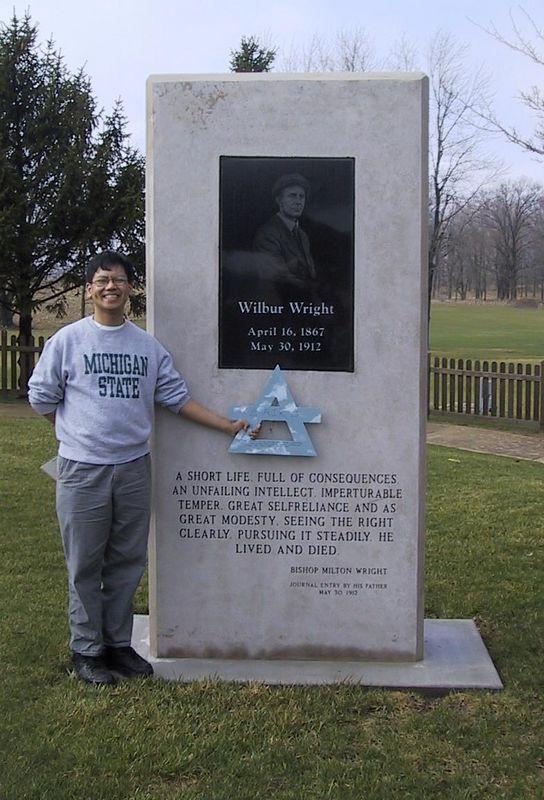Air at Wilbur Wright birthplace [3/27/2004] <p>