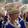 这批人物肖像摄于黔东南苗寨,记录了苗族鼓藏节(新年)的人物活动。