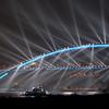 上海卢浦大桥夜色