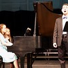 Stewart Center: Apprentice Recital: Connor doing Bellini song, with Madeleine accompanying and Lindsey page turning