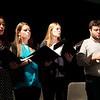 Stewart Center: Apprentice Recital: Giuliana, Olivia, Lindsey, and Sam, singing Pilgrim Hymn
