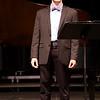 Stewart Center: Apprentice Recital: Connor doing Bellini song