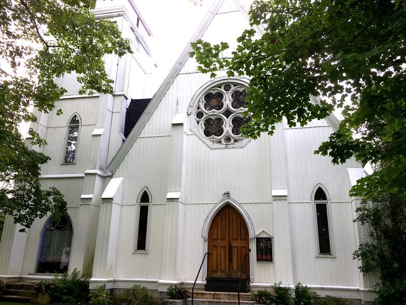 Great Barrington: Guthrie Center: Church facade