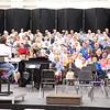 Sheffield: Stewart Center: Evening rehearsal: Center of choristers with Tom