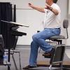 Sheffield: Stewart Center: Evening rehearsal: Tom Hall conducting