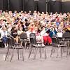 Sheffield: Stewart Center: Evening rehearsal: Center of choristers
