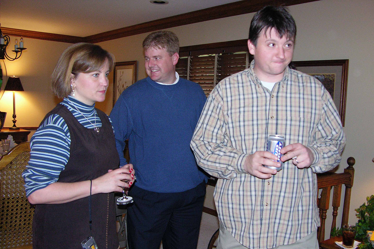 Laura (Brady) and her husband and Jason