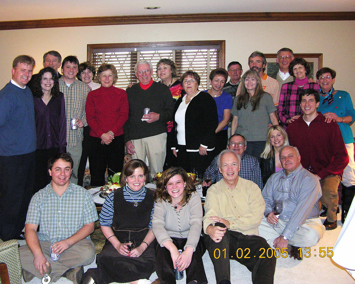This is the whole gang that was at Zappa's for the Brady surprise retirement party