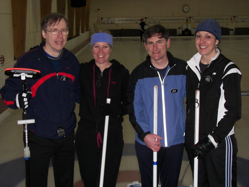 """Don """"Tripod"""" Wade's team, with Margaret McNabb, Kevin Longval and Janice Nadeau 2"""