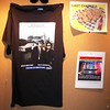 Blues Brothers t-shirt on bulletin board