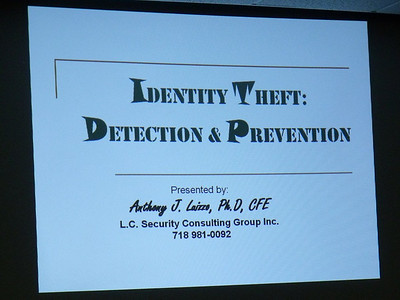 Identity Theft Awareness March 18 2010