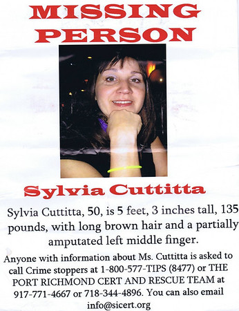 Search Missing Woman Jan 8 2010