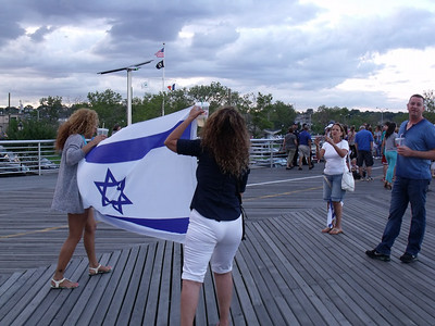 Staten Island Stands with Israel Rally 07/24/14