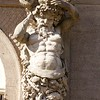 Crane Estate: Casino: Statue at doorway