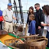 Newburyport: Schooner Adventure: Docent explaining dory