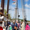 Newburyport: Schooner Adventure: Breakfasters on deck