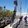 Newburyport: Schooner Adventure: Toward bow and Schooner Alabama