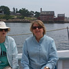 Schooner Ardelle: Kate and Doreen with Paint Factory