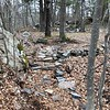 Rockport: Woodland Acres: End of White Flag Trail at Rail Trail from south