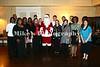 Watson Chapel Choir with Santa Claus