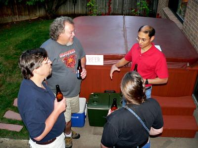 Jeff, Arthur, Tony and Sandy.