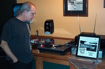 Jeff Sampson handles the DJ duties.