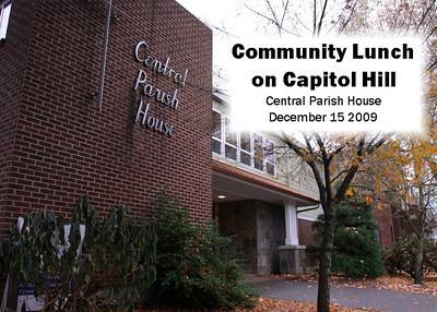 Community Lunch Dec '09