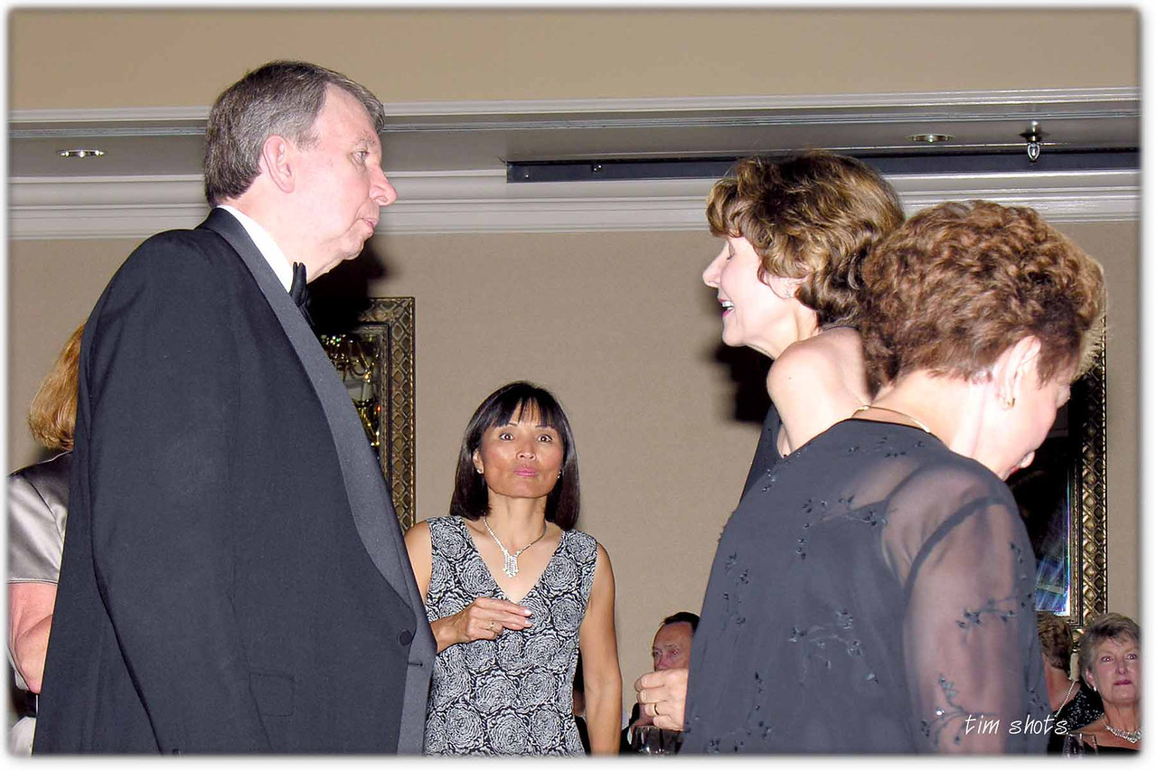 Cotillion Spring 2005 Burke's with Donna in the foreground