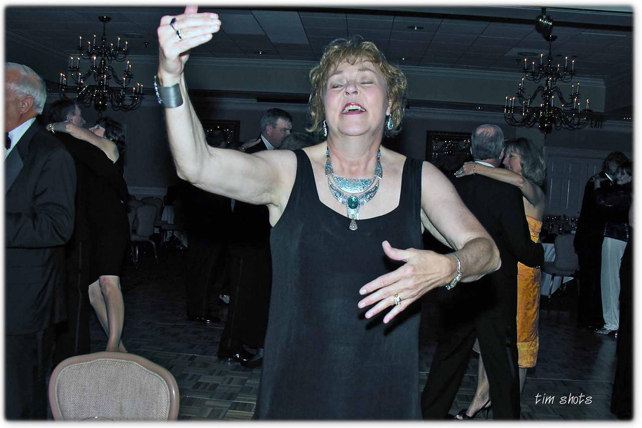 Cotillion Spring 2005 - Pat dancing with her favorite partner