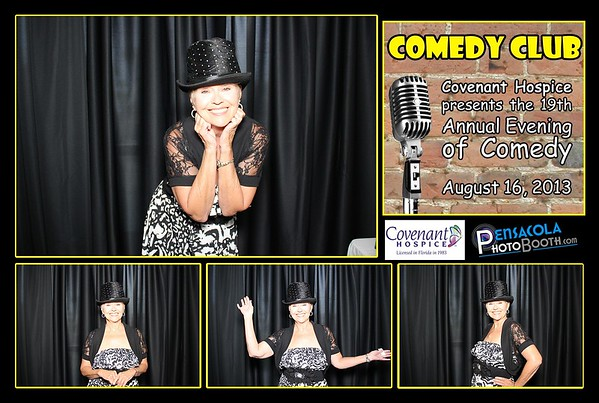 Covenant Hospice 19th Annual Evening of Comedy 08-16-2013