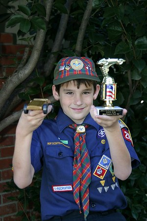 Pinewood Derby 2004