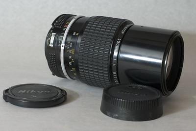 Nikon Nikkor 200 mm F/4.0