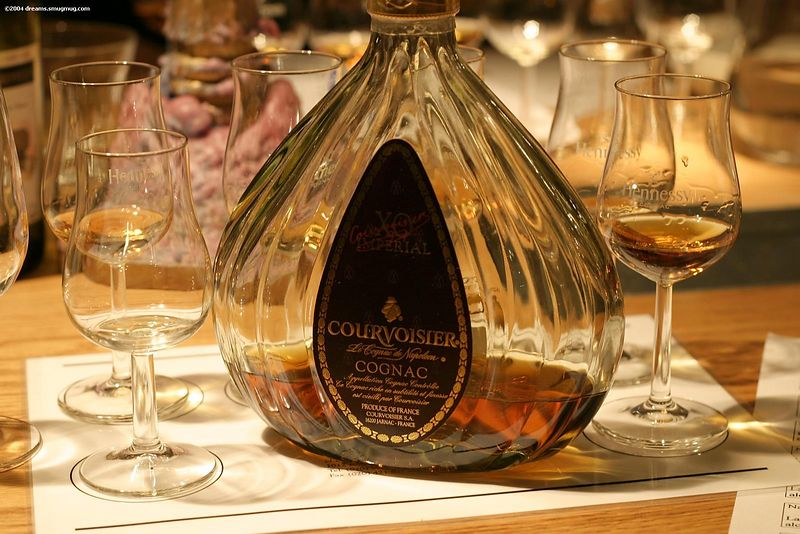 Our last and finest Cognac: an Courvoisier XO Imperial for €110 per bottle... :shock: