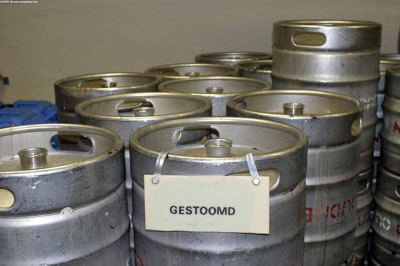 Kegs ready for use