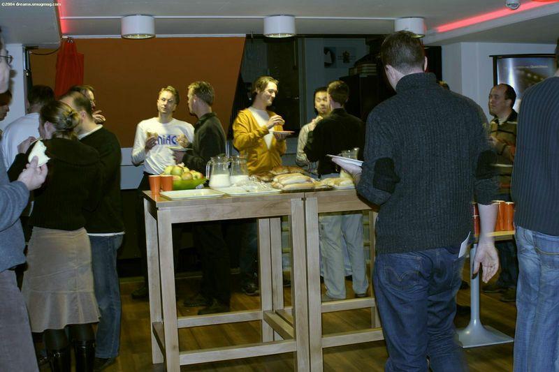 Lunch in the Bastille Bar