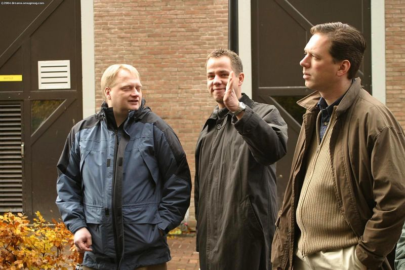 Former board of ENIAC: Tammo, Werner and Gaston